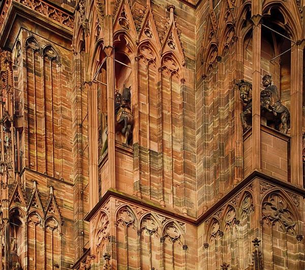 Photograph - Slender Gothic Columns Of  The Cathedral by Steve Estvanik