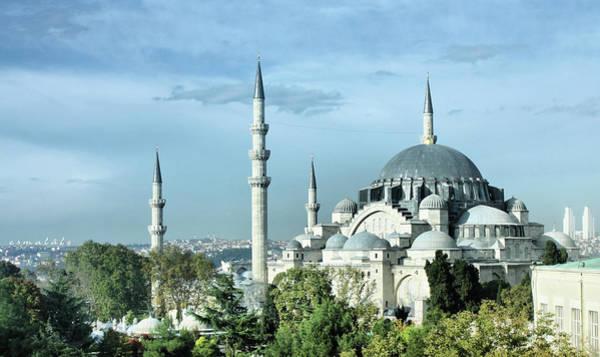 Suleymaniye Mosque Photograph - Süleymaniye Mosque by Esmalale