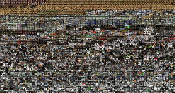 Digital Art - Slice Of Lanscape by Bob Winberry
