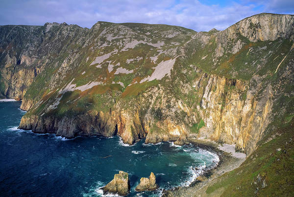 Wall Art - Photograph - Slieve League, Co Donegal, Ireland  Sea by The Irish Image Collection
