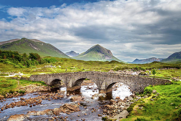 Wall Art - Photograph - Sligachan Bridge, Isle Of Skye by W Chris Fooshee