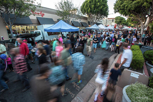 Photograph - Slo Farmers Market by Mike Long