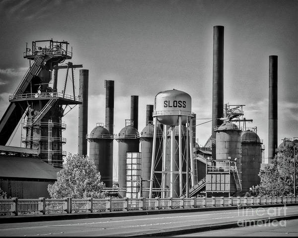 Photograph - Sloss Furnaces Towers by Ken Johnson