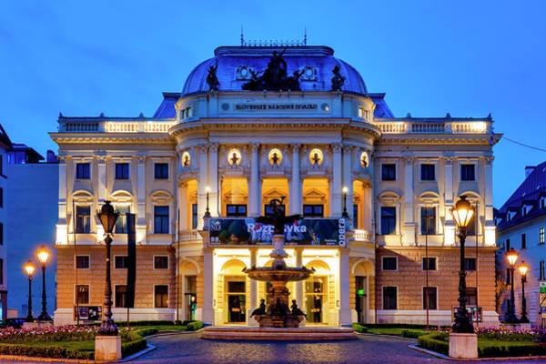 Photograph - Slovak National Theatre by Fabrizio Troiani