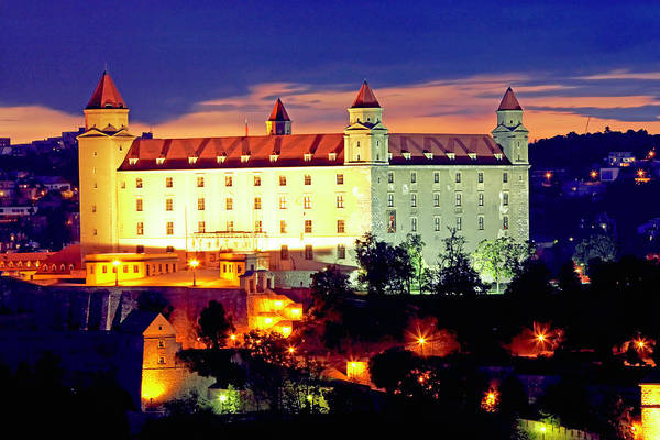 Bratislava Photograph - Slovakia, Bratislava, Bratislava Castle by Allan Baxter
