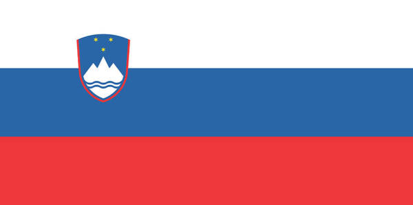 Ljubljana Painting - Slovenian Flag by World Flags