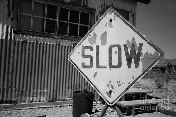 Wall Art - Photograph - Slow Down by Edward Fielding
