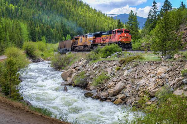Wall Art - Photograph - Slow Train Coming by G Wigler