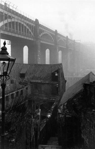 Newcastle Upon Tyne Photograph - Slum Houses by Maurice Ambler