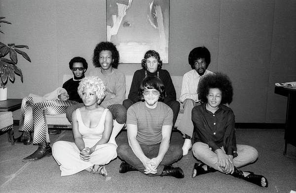 Wall Art - Photograph - Sly And The Family Stone Portrait by Michael Ochs Archives