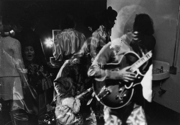 Wall Art - Photograph - Sly Stone Backstage by Jack Robinson