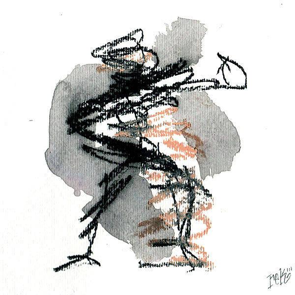 Painting - Small Abstract #5 by Rick Baldwin