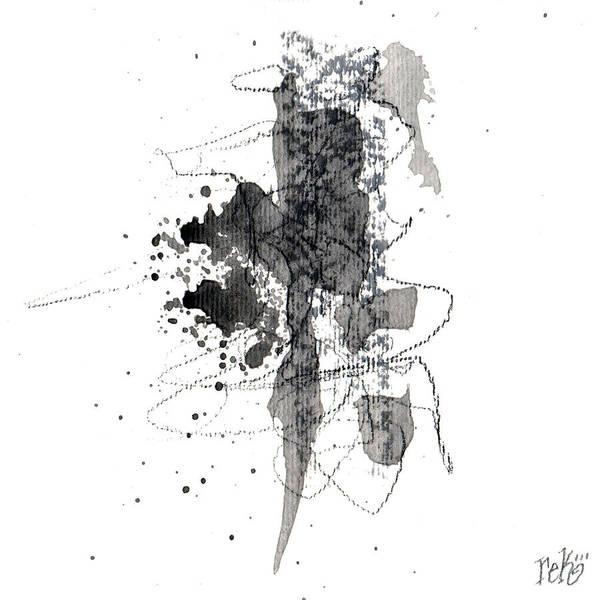Painting - Small Abstract #6 by Rick Baldwin