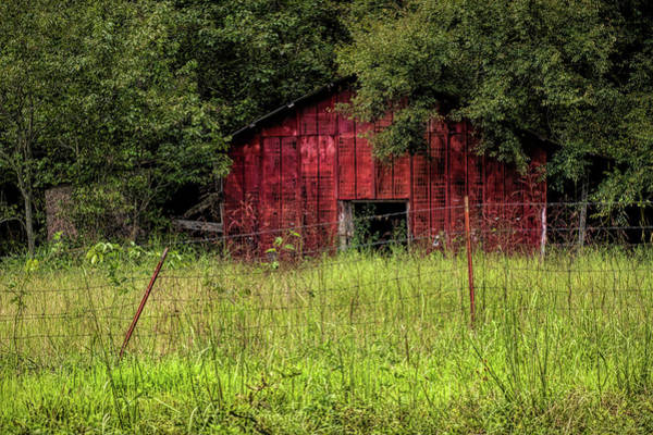 Photograph - Small Barn 3 by Patricia Cale