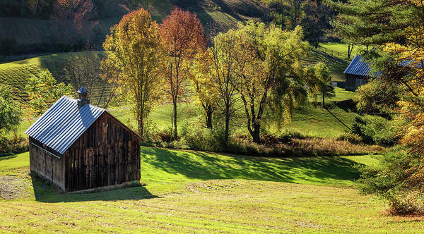 Photograph - Small Barn by Christina DeAngelo
