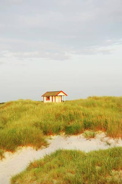 Skane Photograph - Small Bathing Hut by Elliot Elliot