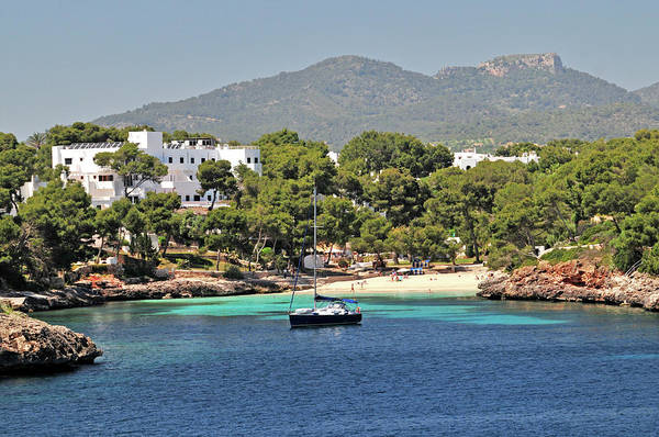 Chalet Photograph - Small Beach On The Island Of Majorca by Maxian