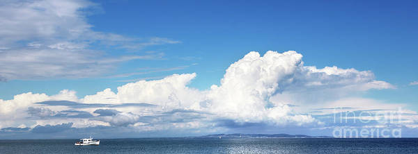 Wall Art - Photograph - Small Boat And Big Sky by Jane Rix