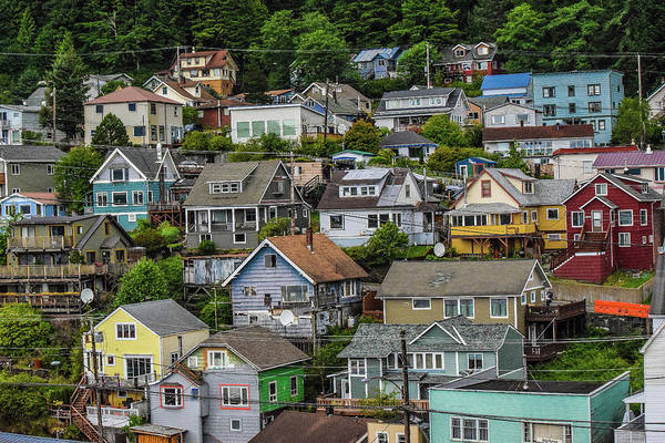 Wall Art - Photograph - Small Colorful Town  by Edward Garey
