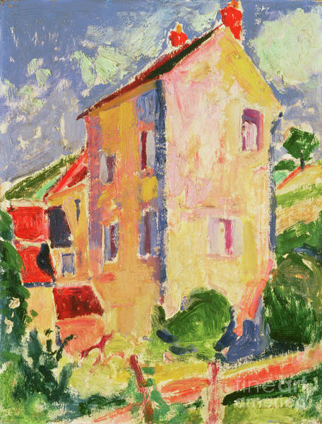 Wall Art - Painting - Small House  by Alfred Henry Maurer