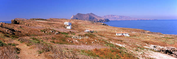 Wall Art - Photograph - Small Houses At Coast, Anacapa Island by Panoramic Images