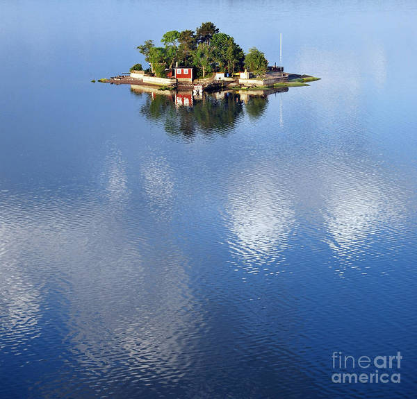 Wall Art - Photograph - Small Island In The Swedish Archipelago by Tp Gronlund