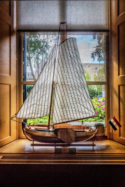 Photograph - Small Sailing Boat by Debra and Dave Vanderlaan