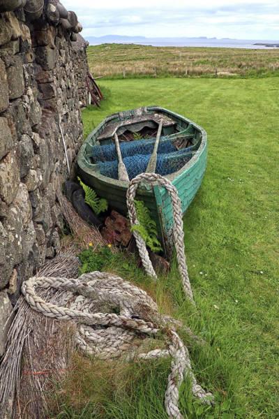 Wall Art - Photograph - Small Scottish Fishing Boat by Dave Mills