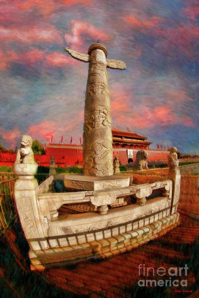 Photograph - Small Statue Tiananmen Square by Blake Richards