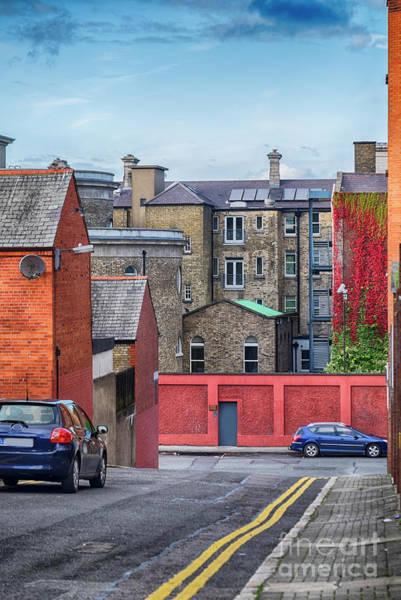 Photograph - small street in center of Dublin by Ariadna De Raadt