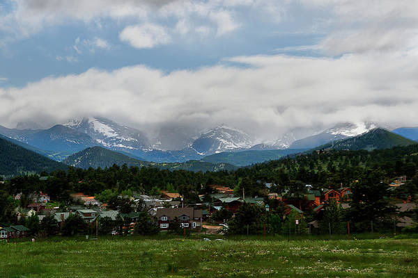 Photograph - Small Town In Foothills Of The Rocky Mountains by Dan Friend