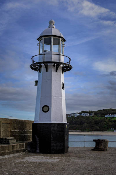 Photograph - Smeaton's Pier Lighthouse by Eddy Kinol