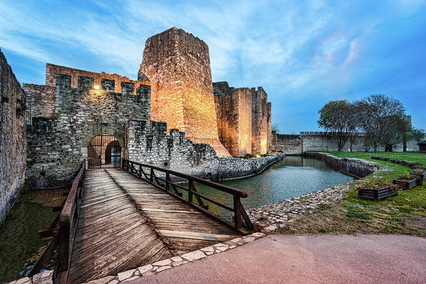 Photograph - Smederevo Fortress Gate And Bridge by Milan Ljubisavljevic
