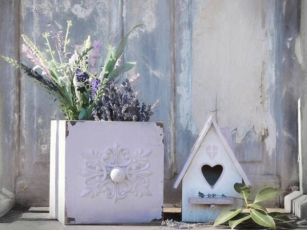 Wall Art - Photograph - Smell The Lavender by Lori Deiter
