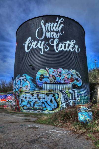 Photograph - Smile Now Cry Later Asheville  by Carol Montoya