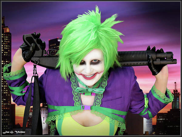 Photograph - Smile Of The Joker by Jon Volden