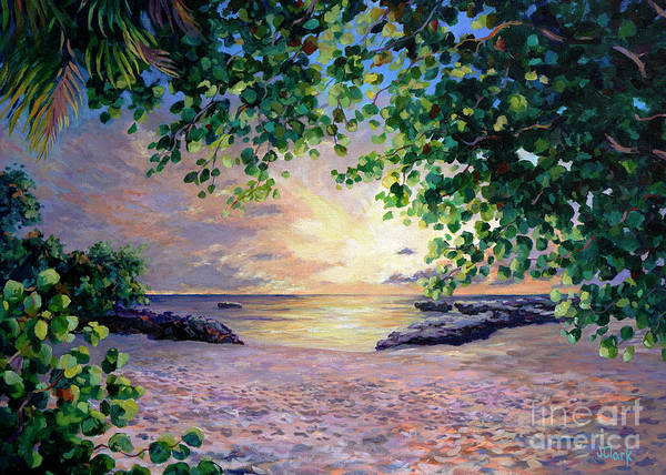 Wall Art - Painting - Smith Cove Sunset by John Clark