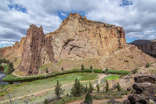 Photograph - Smith Rock Close Up by Matthew Irvin