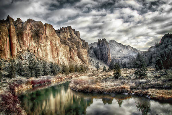 Photograph - Smith Rock State Park 4 by Robert Woodward