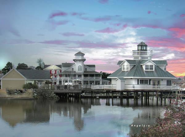 Photograph - Smithfield Station, Smithfield, Virginia by Angelcia Wright