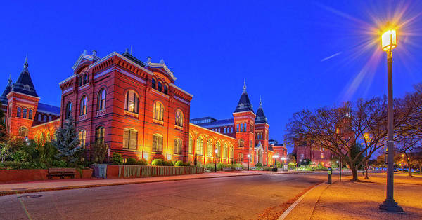 Smithsonian Photograph - Smithsonian Castle by Tim Reaves