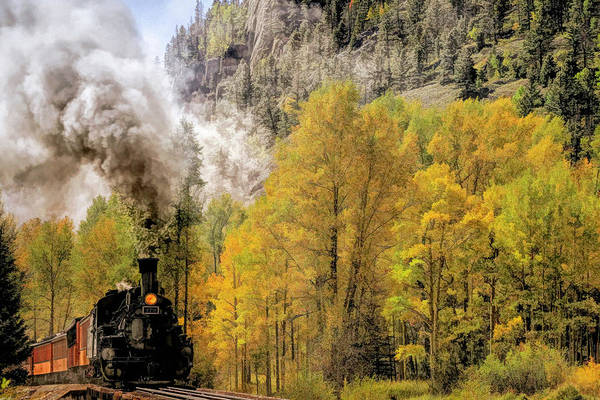 Silverton Photograph - Smoke And Cinders by Donna Kennedy