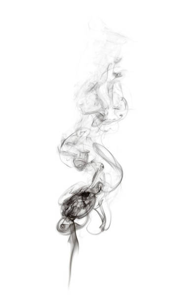 Mixing Photograph - Smoke by Antagain