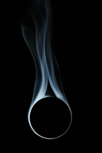 Photograph - Smoke From Sphere by Paul Taylor