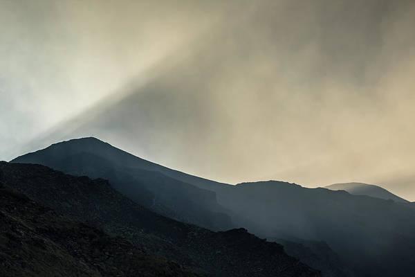 Wall Art - Photograph - Smoke On Top Of Etna Volcano by Ruben Vicente
