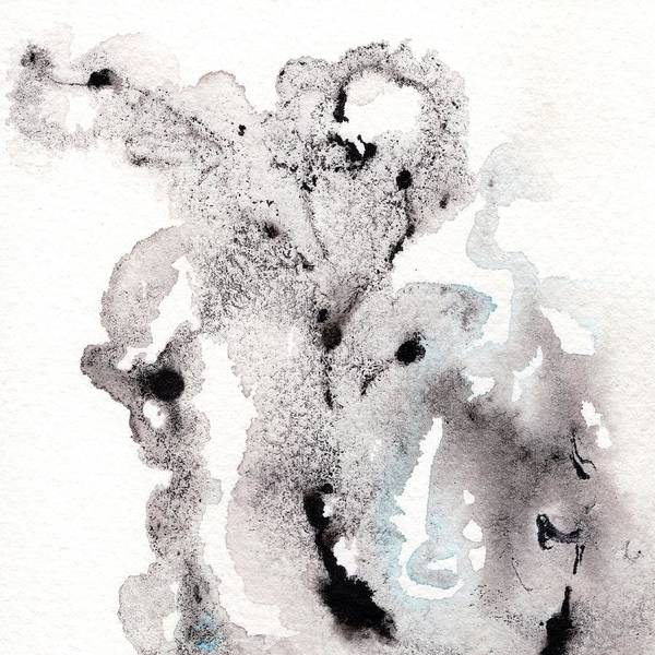 Ashes Painting - Smoke On Water 1 by Carlin Blahnik CarlinArtWatercolor