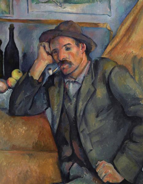 Cezanne Wall Art - Painting - Smoker, 1892 by Paul Cezanne