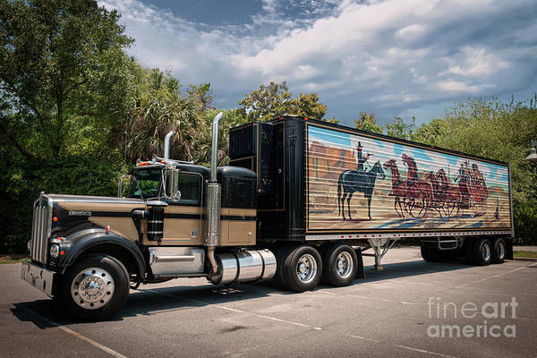 Photograph - Smokey And The Bandit - 1973 Kenworth 18 Wheeler by Dale Powell