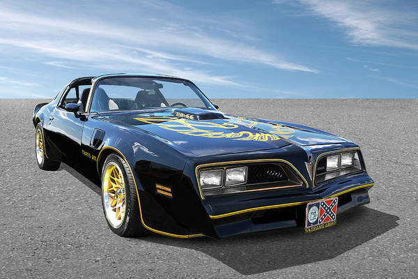 Photograph - Smokey And The Bandit Trans Am by Gill Billington