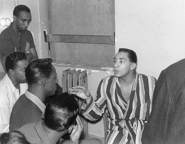 Robinson Photograph - Smokey Robinson And The Temps by Michael Ochs Archives